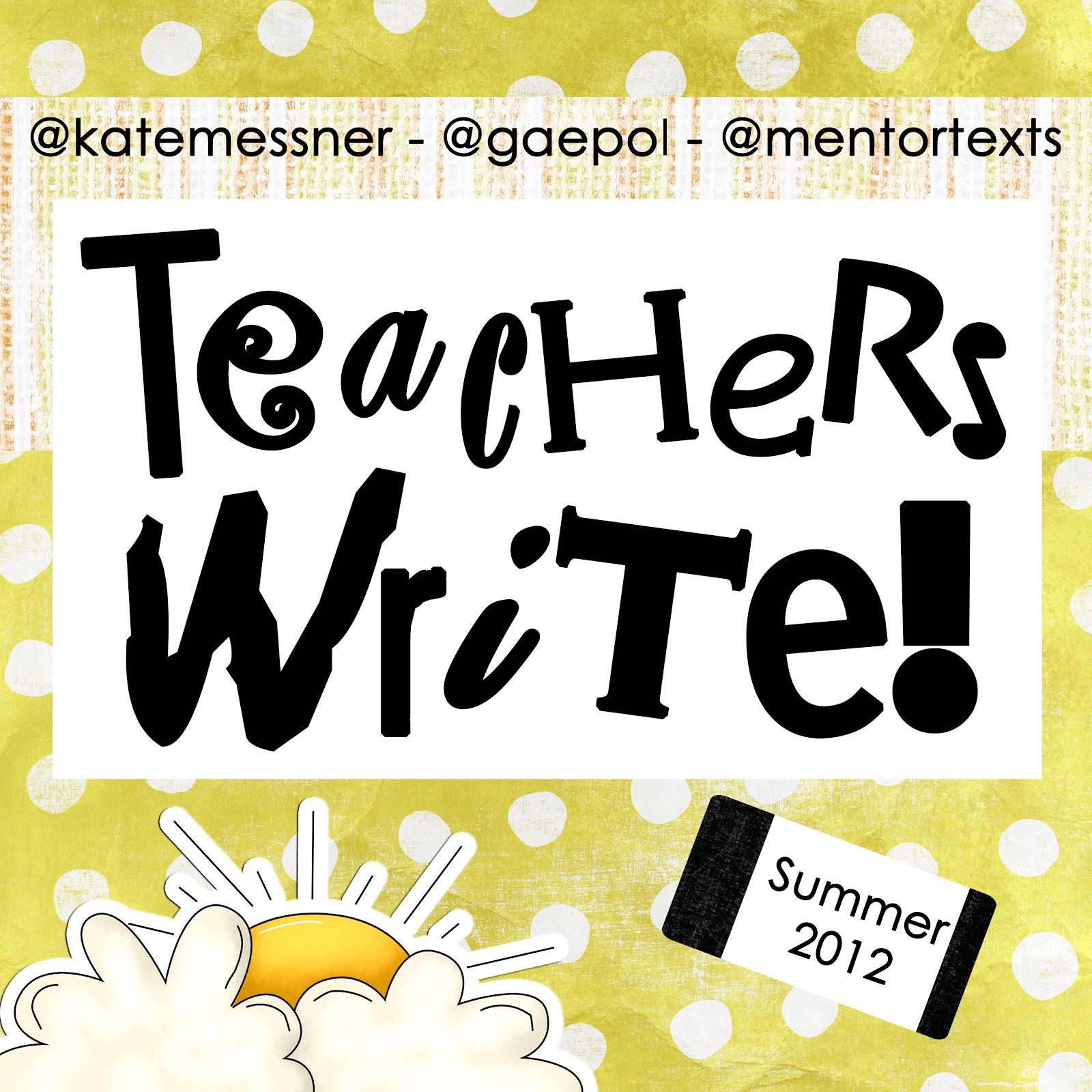 Teachers Write | Lauren M. Barrett