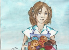 Cookies for Colin - Fanart for Friends Campaign