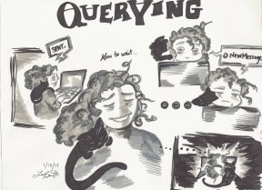The Querying Author