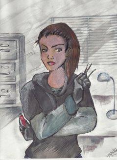 Spy Girl - Fanart for Friends Campaign